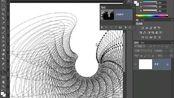 林兆胜ps教程视频第38课幻化的线条图案 ps5抽出滤镜抠图视频 ps调色教程入门视频