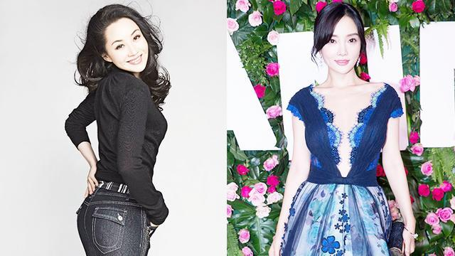 娱乐圈反年龄差的明星,李小璐扮嫩,她最让人受不了!