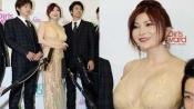 艳星叶美香东京亮相时装周 透视装如全裸抢镜