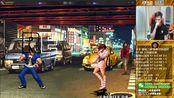 【小孩曾卓君】拳皇98三问抢5!导师大赞对手稳中带功 小孩vs吖王 8月14号