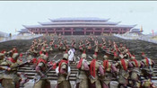 李元霸闯殿,以为宇文成都是皇帝,找皇帝要官当