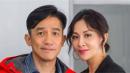 梁朝伟与刘嘉玲挎胳膊雪中漫步,老夫老妻背影超温馨