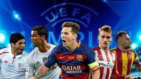 欧洲赛场积分胜率最高 西甲水平已远超欧洲其他联赛?