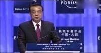 李克强总理达沃斯论坛讲分享经济