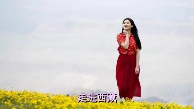 草原情歌!甘雅丹一首《走进西藏》超级好听!