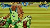 《斗龙战士》豆豆龙VS龟贝龙战斗视频