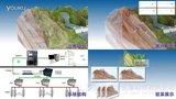 边坡微地震监测预警模型动画 数字光魔作品