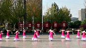 山西省吕梁市柔力球协会《桃花红,杏花白》