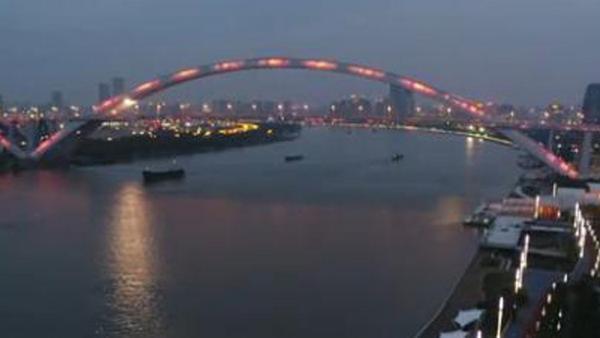 56盏世博灯重新点亮 黄浦滨江岸线将全面贯通